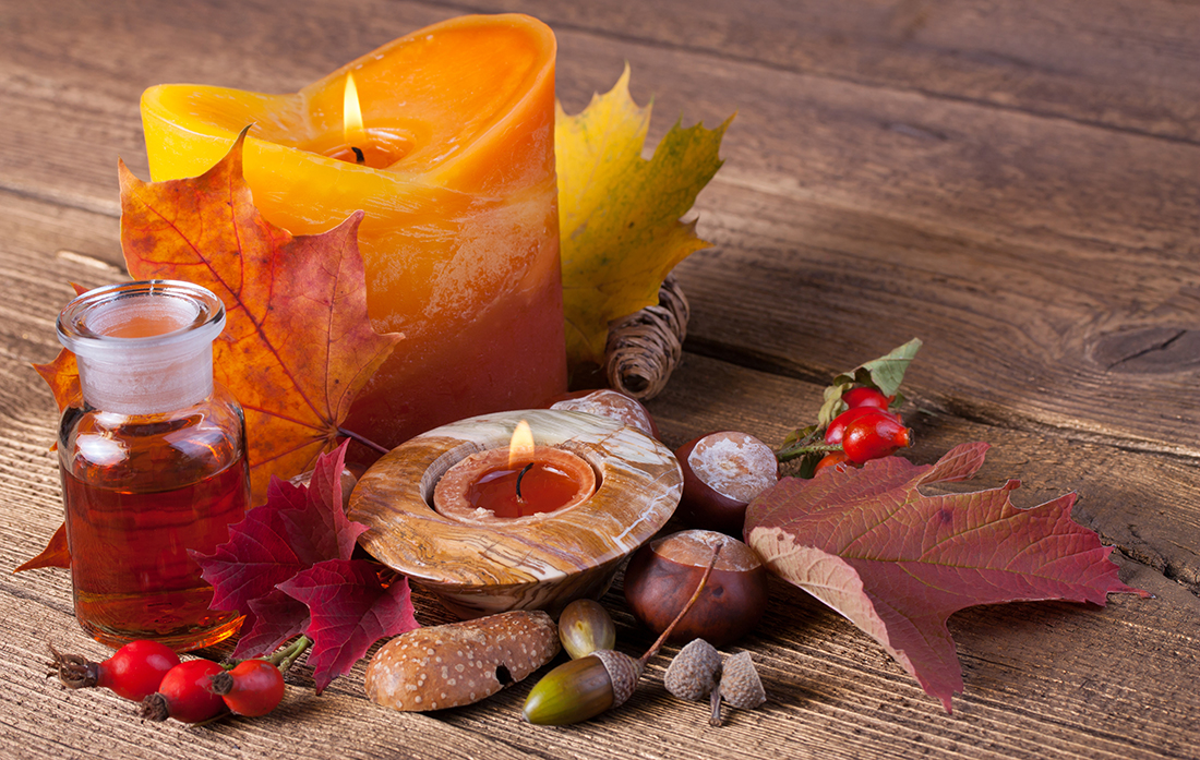 autumn at our spa boutique
